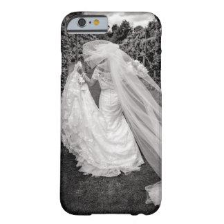 Bride Wedding Black & White Photo iPhone Cover
