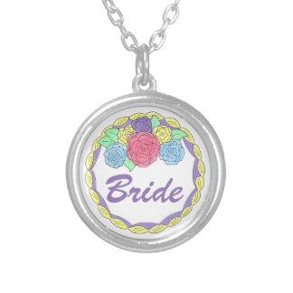 Bride Wedding Cake Bridal Shower Gift Necklace