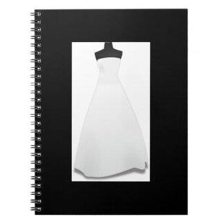 Bride Wedding Dress Notebook