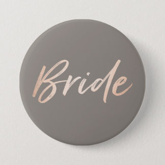 Bride Wedding Rehearsal 7.5 Cm Round Badge