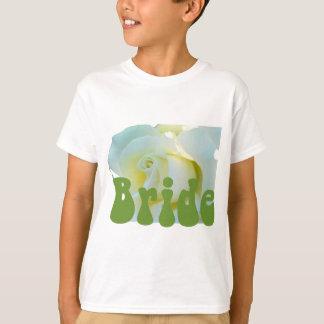 Bride White Rose design! T Shirt