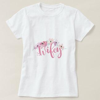 Bride Wifey Pink T-Shirt Bridal Tees Bridesmaids