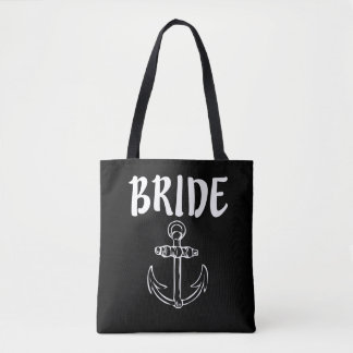 Bride with anchor women's bag