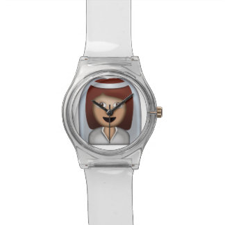 Bride With Veil Emoji Watch