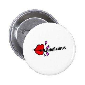 Bridelicious Red Pin