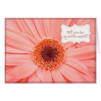 Bridemaid Needed Greeting Card
