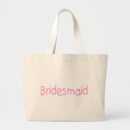 Bridemaid (Pink) Tote Bags