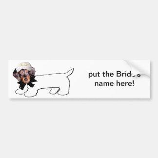 Bride's Autograph Hound Bumper Stickers