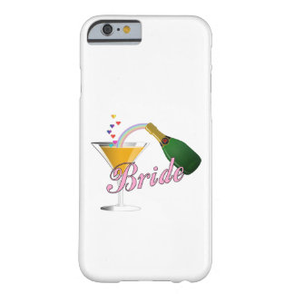 Brides Champagne Toast Barely There iPhone 6 Case