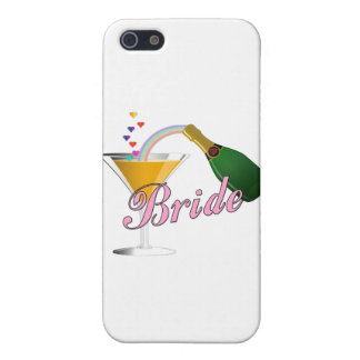 Brides Champagne Toast iPhone 5 Case