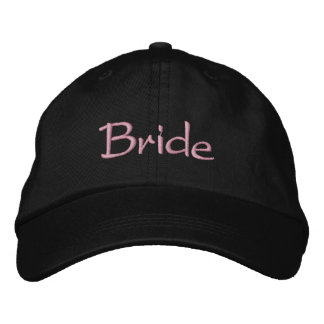 Bride's Classy Embroidered Baseball Cap