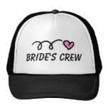 Bride's Crew party hat for wedding or bachelorette