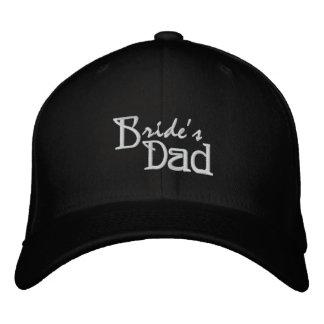 Bride's Dad Embroidered Cap