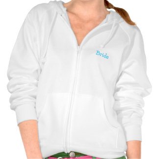 Bride's Day Bride's Way Hooded Pullovers