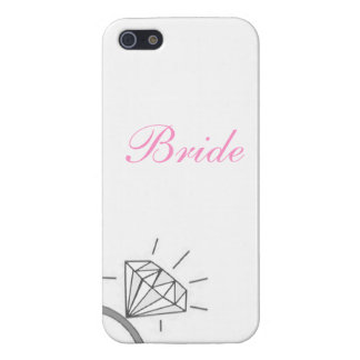 Bride's Diamond Ring Phone Covered- Pink Case For iPhone 5/5S