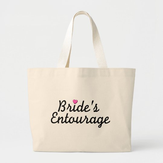 Bride's Entourage Large Tote Bag