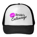 Brides Entourage Mesh Hats