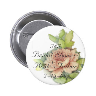 Bride's Father Button-Customize