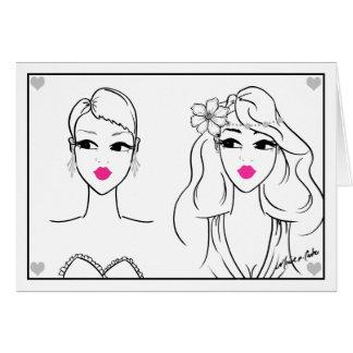 Brides Gay Wedding Card