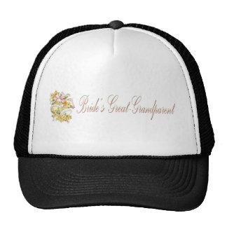 Brides Great Grandparent Hat / Cap