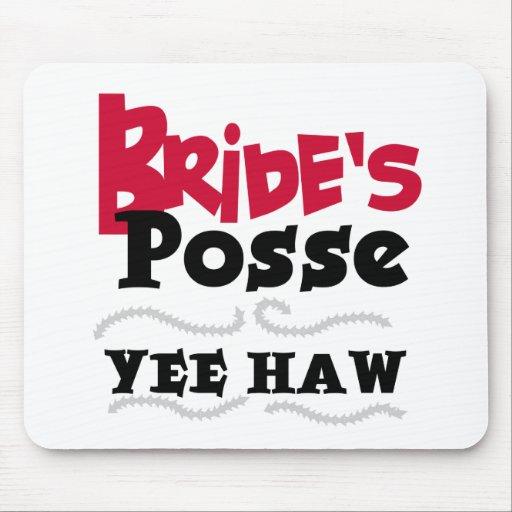 Bride's Posse Mouse Mats