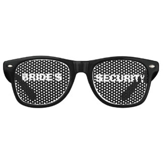 Bride's Security Party Eye Glasses