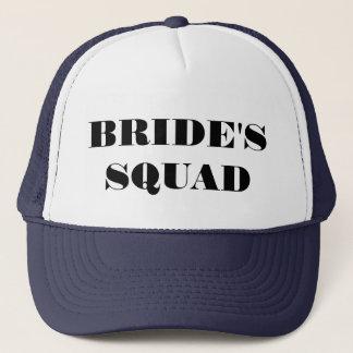 Bride's Squad Bachelorette Party Hatt Trucker Hat