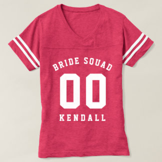 Brides Squad Bridesmaid T-Shirt