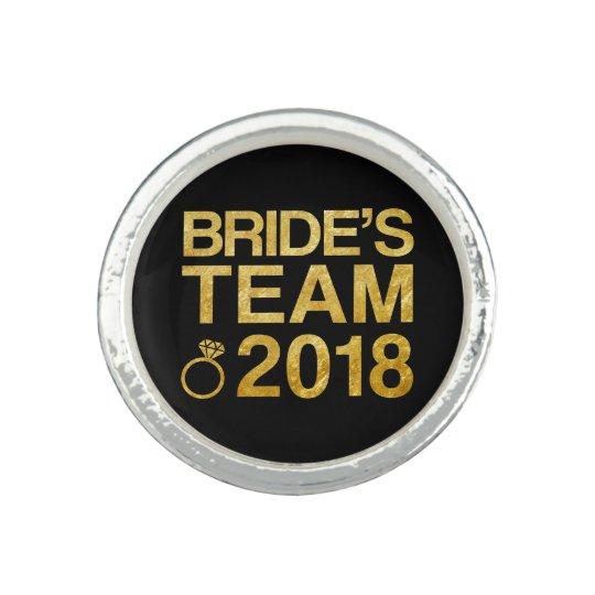 Bride's team 2018 ring