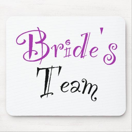 Bride's Team Mousepads