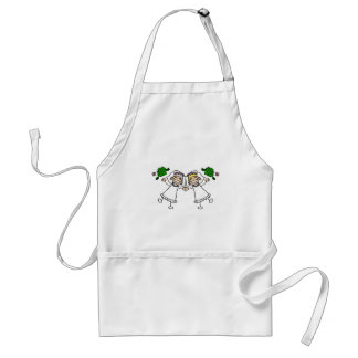 Brides Tossing Bouquests Standard Apron