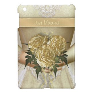 Brides Wedding Dress Ivory iPad Mini Cases