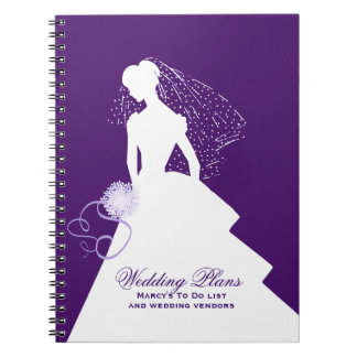 Bride's Wedding Planner Notebook