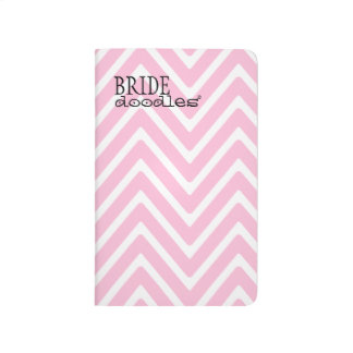 Brides Wedding To Do List Pink Chevron Journal