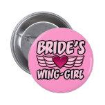 Bride's Wing-Girl Bachelorette Party Button