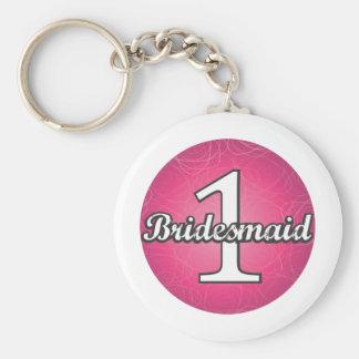 Bridesmaid #1 key chain