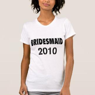 Bridesmaid 2010 Black Tee Shirts