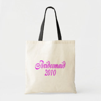 Bridesmaid 2010 (Pink) Tote Bag