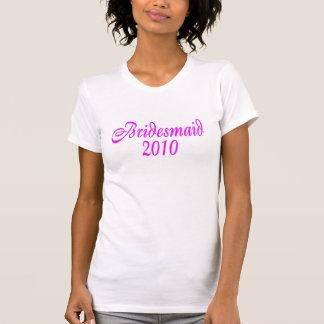 Bridesmaid 2010 (Pink) Tee Shirt