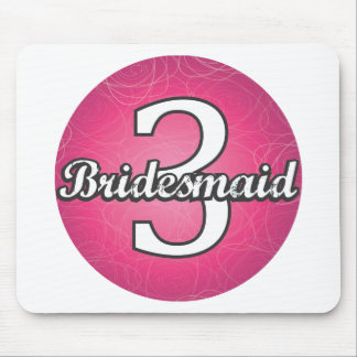 Bridesmaid #3 mousepads