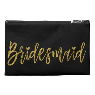 Bridesmaid Bachelorette Party Survival Kit Travel Accessory Bag