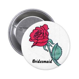 Bridesmaid Buttons