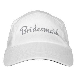 Bridesmaid bling hat