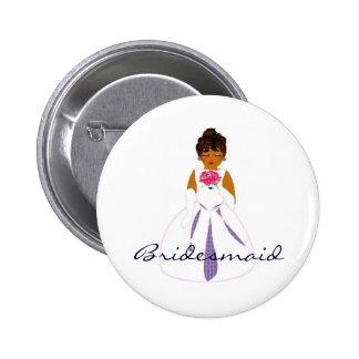 Bridesmaid Button - Customizable Button