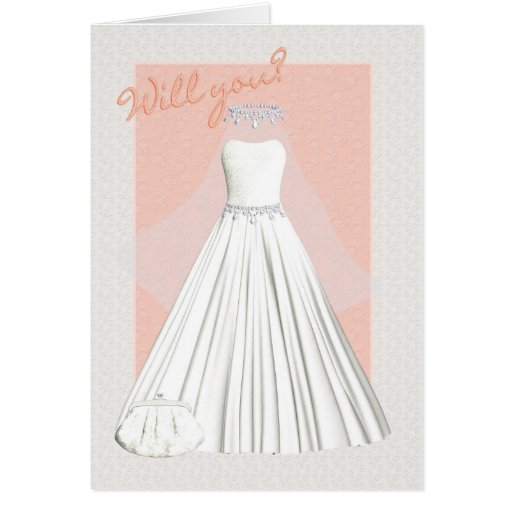 Bridesmaid Card will you be my bridesmaid with wed