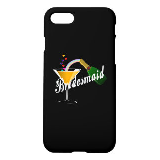 Bridesmaid Champagne Toast iPhone 7 Case