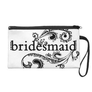 Bridesmaid Clutch Wristlet