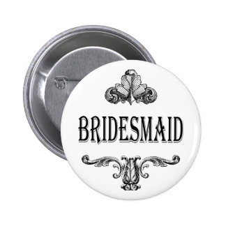 bridesmaid customizable color button