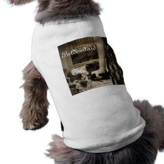 Bridesmaid doggy t-shirt doggie t-shirt