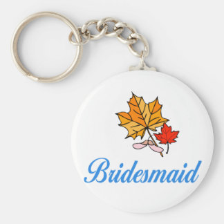 Bridesmaid - fall keychains